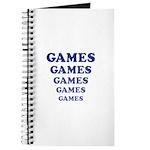 Amusement Park 'Games' Gamer Journal