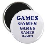 "Amusement Park 'Games' Gamer 2.25"" Magnet (10"