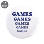 "Amusement Park 'Games' Gamer 3.5"" Button (10"