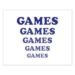 Amusement Park 'Games' Gamer Small Poster