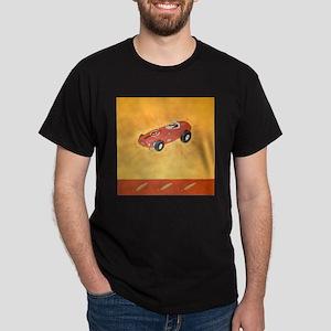 Black T-Shirt with Dehlinger art