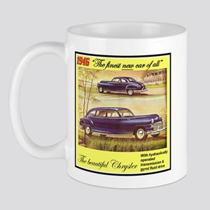 """1946 Chrysler Ad"" Mug"