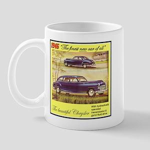 """""""1946 Chrysler Ad"""" Mug"""
