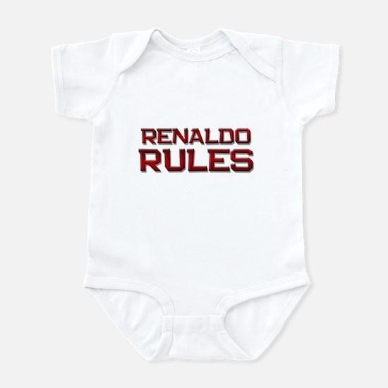 renaldo rules Infant Bodysuit