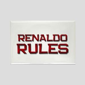 renaldo rules Rectangle Magnet