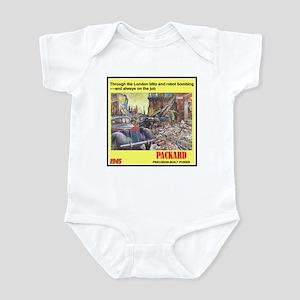 """1945 Packard Ad"" Infant Bodysuit"