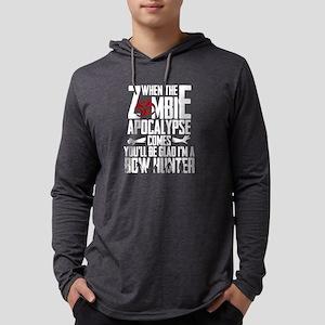 Zombie Apocalypse - Bowhunter Long Sleeve T-Shirt