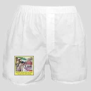 """1945 DeSoto Ad"" Boxer Shorts"
