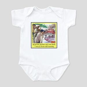 """1945 DeSoto Ad"" Infant Bodysuit"