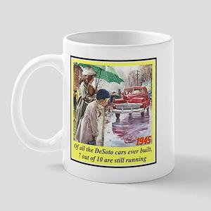 """1945 DeSoto Ad"" Mug"