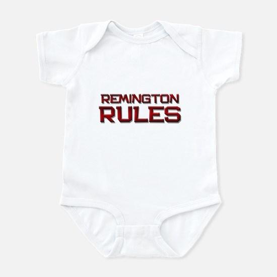 remington rules Infant Bodysuit