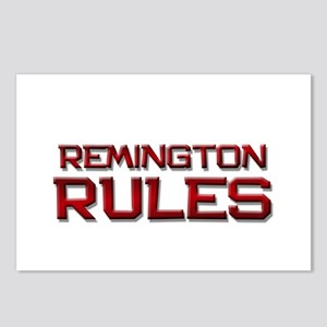 remington rules Postcards (Package of 8)