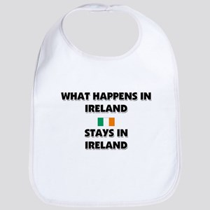 What Happens In IRELAND Stays There Bib