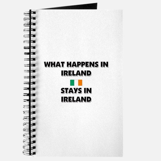 What Happens In IRELAND Stays There Journal