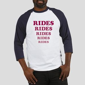 Amusement Park 'Rides' Rider Baseball Jersey
