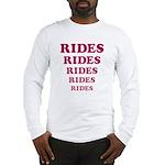 Amusement Park 'Rides' Rider Long Sleeve T-Shirt