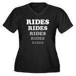 Amusement Park 'Rides' Rider Women's Plus Size V-N