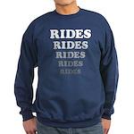 Amusement Park 'Rides' Rider Sweatshirt (dark)