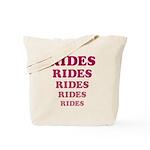 Amusement Park 'Rides' Rider Tote Bag