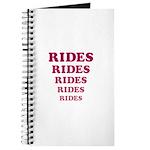 Amusement Park 'Rides' Rider Journal