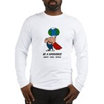 Earth Day Superhero Long Sleeve T-Shirt