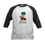 Earth Day Superhero Kids Baseball Jersey