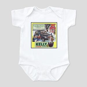 """1944 Kelly Tire Ad"" Infant Bodysuit"