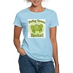 Being Green Rocks Women's Light T-Shirt