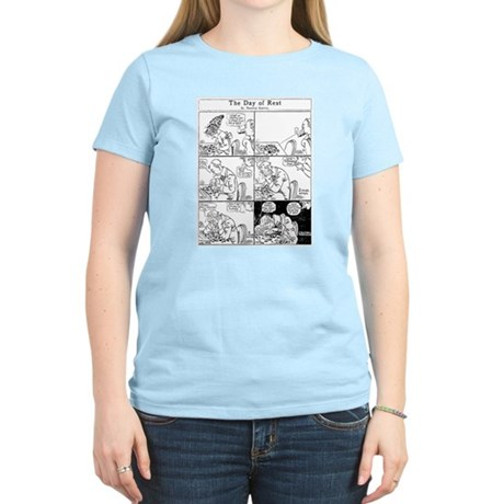 03/29/1909: The Day of Rest Women's Light T-Shirt