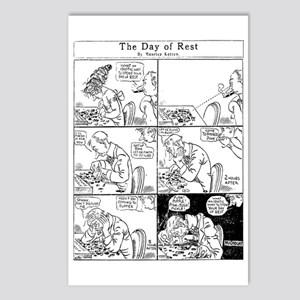 03/29/1909: The Day of Rest Postcards (Package of