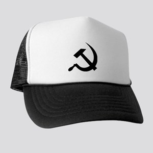 Black Hammer and Sickle Trucker Hat