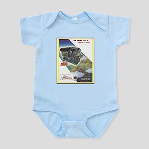 """WWII Allison Engines"" Infant Bodysuit"