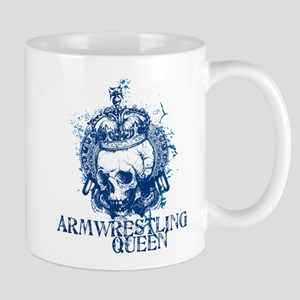 Armwresting Queen Skull Mug