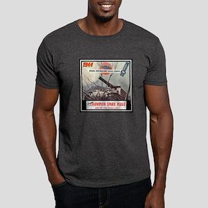 """Dependable Champion Plugs"" Dark T-Shirt"