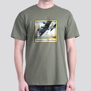 """Flying Fortress Engines Ad"" Dark T-Shirt"