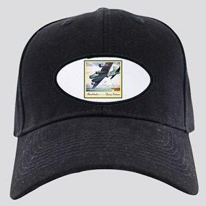 """Flying Fortress Engines Ad"" Black Cap"