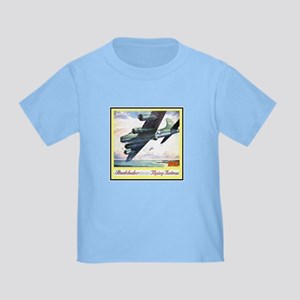 """""""Flying Fortress Engines Ad"""" Toddler T-Shir"""