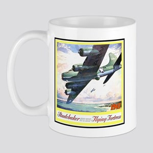 """Flying Fortress Engines Ad"" Mug"