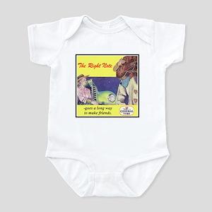 """1946 General Tire Ad"" Infant Bodysuit"