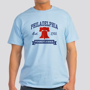 Philadelphia PA Light T-Shirt
