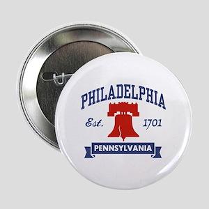 "Philadelphia PA 2.25"" Button"