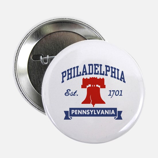 "Philadelphia PA 2.25"" Button"