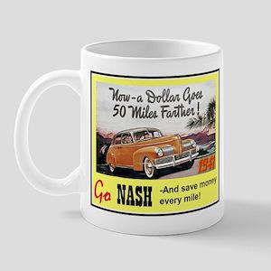 """""""1941 Nash Ad"""" Mug"""