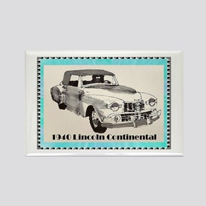 """""""1940 Continental"""" Rectangle Magnet"""