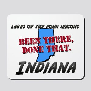 lakes of the four seasons indiana - been there, do