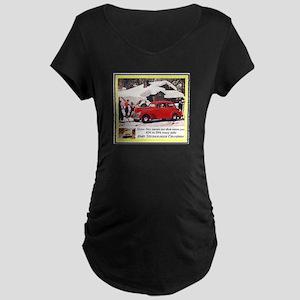 """1940 Studebaker Ad"" Maternity Dark T-Shirt"