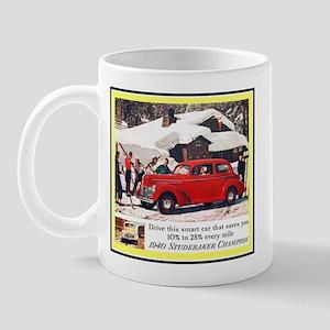"""""""1940 Studebaker Ad"""" Mug"""
