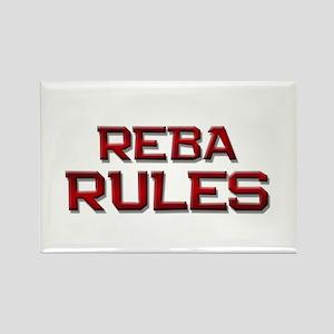 reba rules Rectangle Magnet