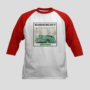 """1938 Graham Sharknose"" Kids Baseball Jersey"