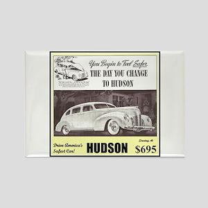 """1938 Hudson Ad"" Rectangle Magnet"